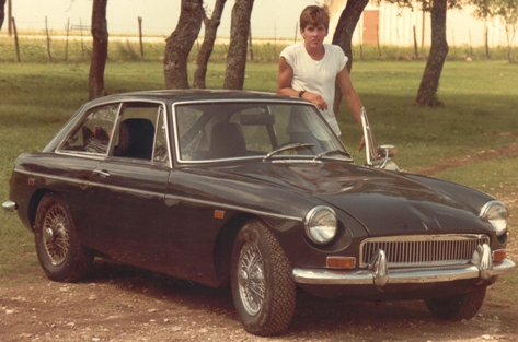 MGB GT after